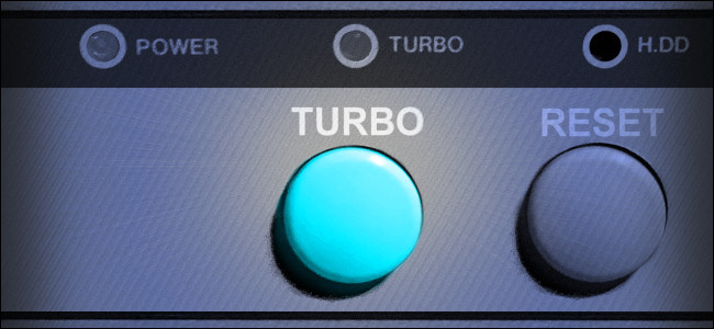 Why Did the Turbo Button Slow Down Your PC in the '90s?